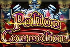 Potion Commotion Slots Online Logo