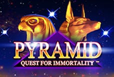 Pyramid: Quest for Immortality Slots Online Logo
