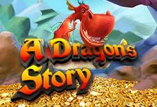 A Dragons Story Slots Online Logo