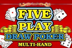Five Play Draw Poker Online