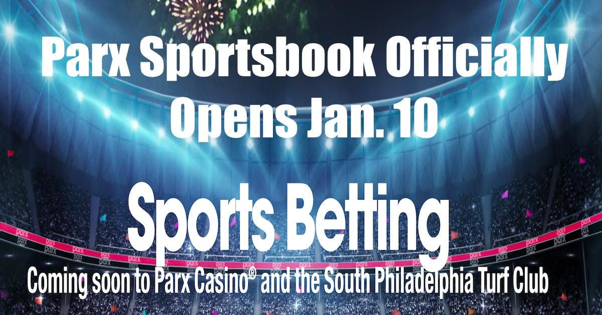 Parx Sportsbook Opens Up For PA Sports Betting
