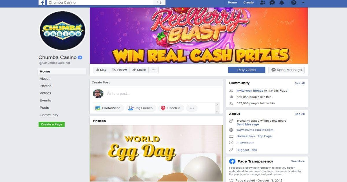 Facebook Casino Real Money Casinos Usa