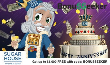 Best SugarHouse Promo Code Ever - Play For FREE for 24 hours!