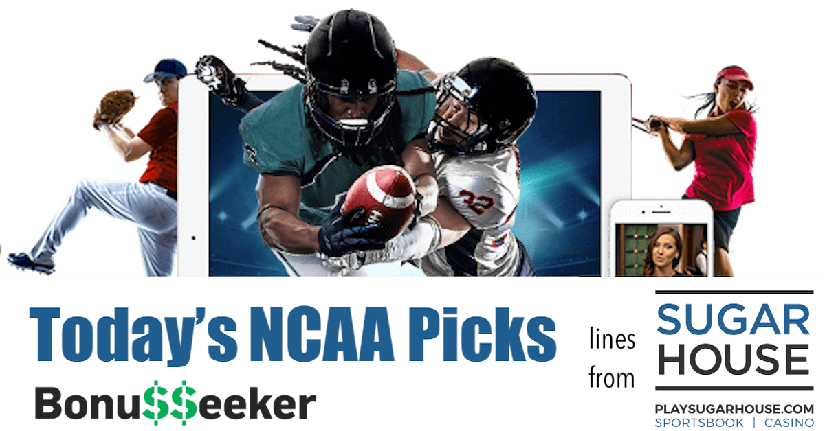 NCAAB Picks With SugarHouse Sportsbook: Free Sports Picks - March 14