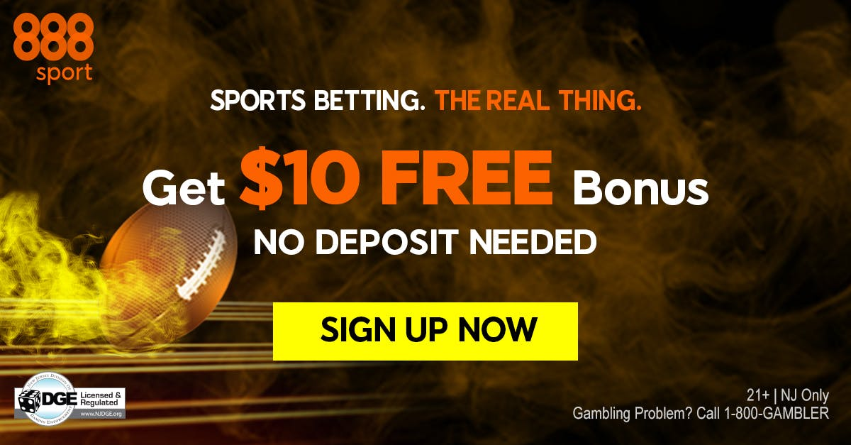 888Sport Launches Online Sports Betting in New Jersey