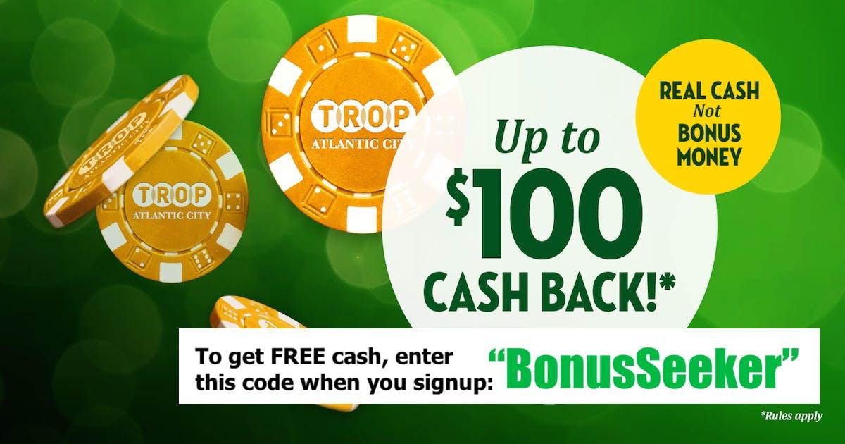 Tropicana Online Casino Bonus Codes - Get the Best in New Jersey