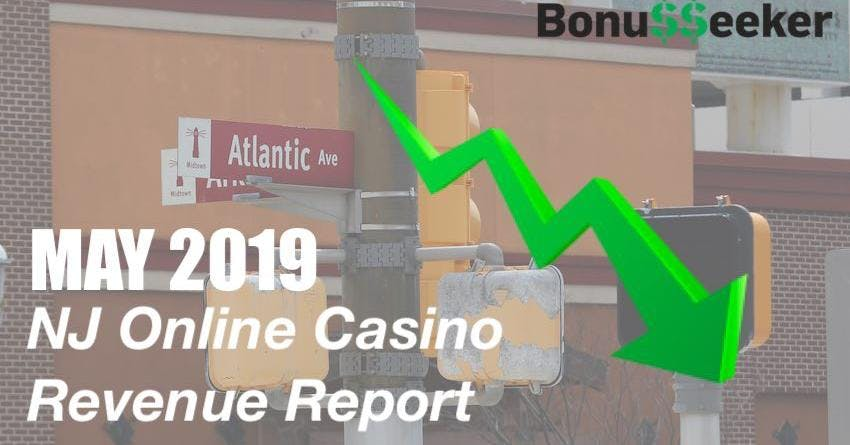 NJ Online Casinos April Revenue Declines By $10.27 Million Compared To March