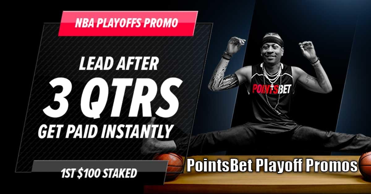 NJ Sports Betting Online - PointsBet Sportsbook Playoff Promotions