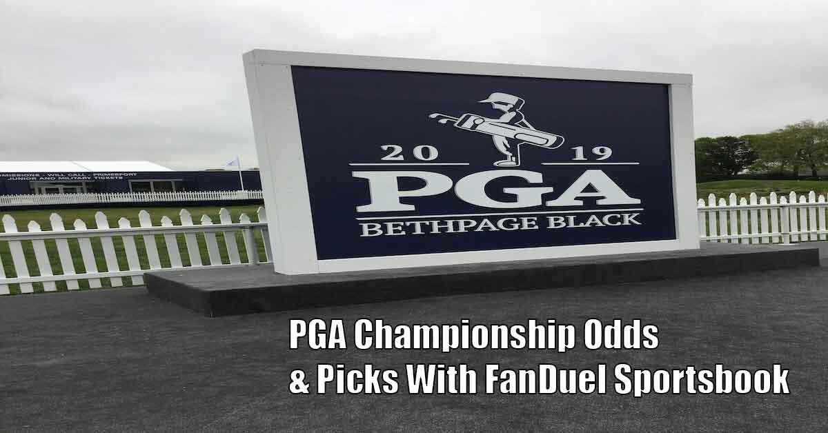 2019 PGA Championship Odds, Golf Betting Picks With FanDuel Sportsbook Featured Image