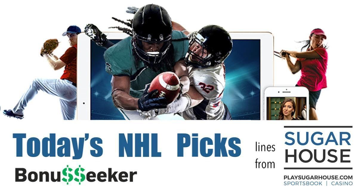NHL Playoff Picks With SugarHouse Sportsbook: May 4