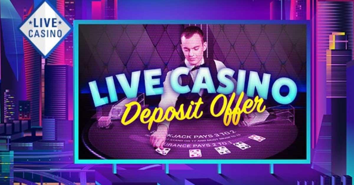NJ Online Casino PokerStars Offers Live Dealer Promotion