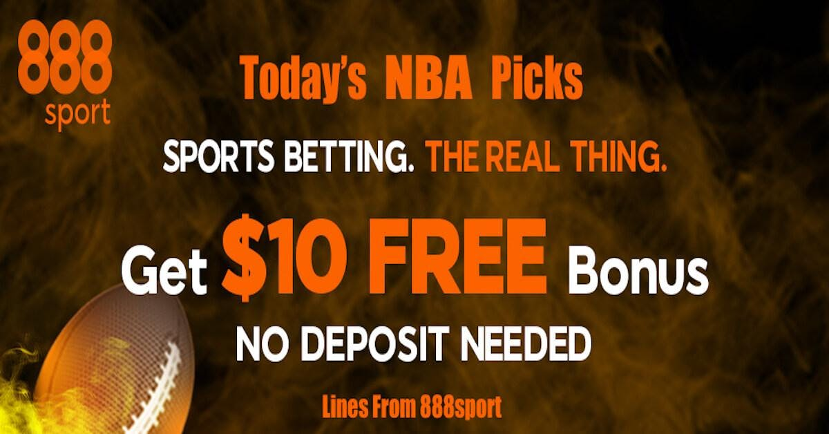 NBA Picks With 888 Sportsbook: Free Sports Picks Daily - March 13