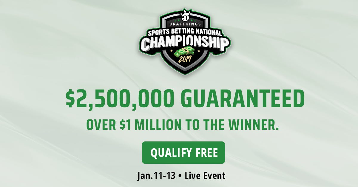 DraftKings Sports Betting National Championship - All You Need To Know