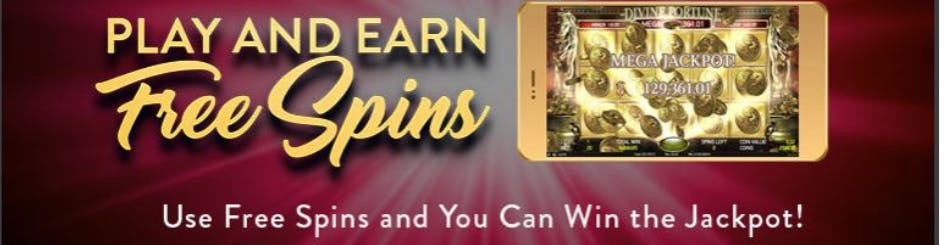 playMGM Online Casino Promo - Play And Earn Free Spins - Win The Jackpot