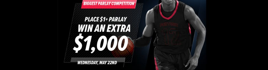 PointsBet Sportsbook Promo - Biggest Parlay Competition - (May 22nd)