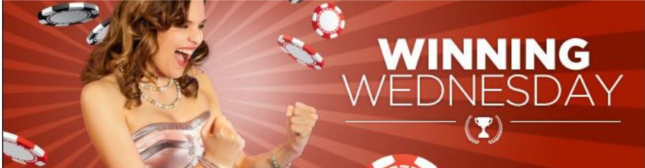 888 Casino Promo - Winning Wednesday - Deal Of The Day